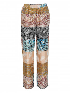 Costamani Mira patchwork pants - Mixcolour