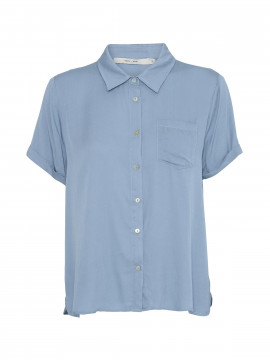 Costamani Grit S/S shirt - Blue