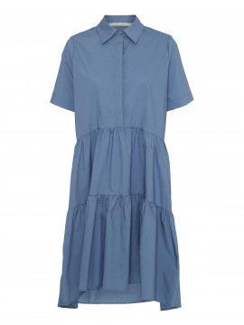 Costamani Jutta S/S dress - Blue