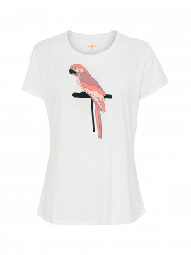 Costamani Parrot S/S tee - White
