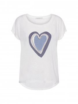 Costamani Heart S/S Tee - Blue