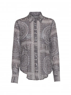 Costamani Boa paisley shirt - Grey