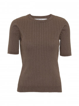 Costamani Loa S/S knit - Brown