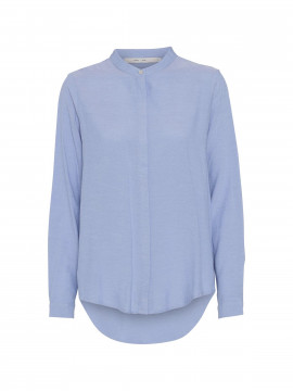 Costamani Bina L/S shirt - Oxford blue