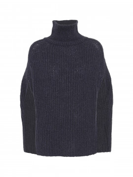 Costamani Abby poncho - Dark blue