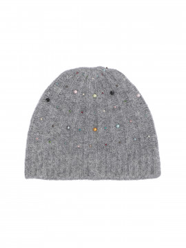 Costamani Beth hat w/beards - Grey