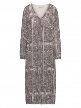 Costamani Aura paisley dress - Grey