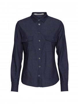 Costamani Molly denim shirt - Blue
