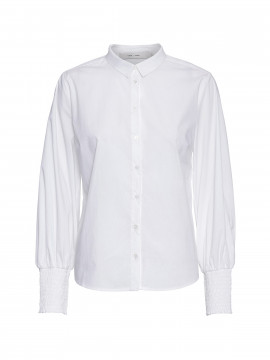 Costamani Ruby puff shirt - White