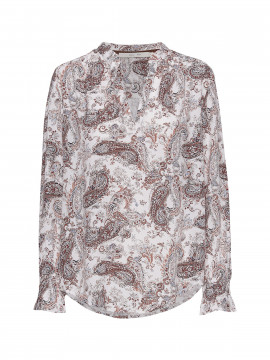 Costamani Rebecca paisley shirt - Burned tone