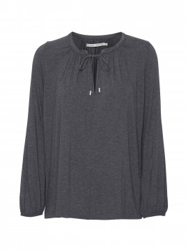 Costamani Viola jersey top - Grey melange