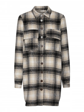 Costamani Columbine check shirt - Grey off
