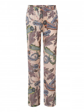Costamani Spot paisley pants - Off white