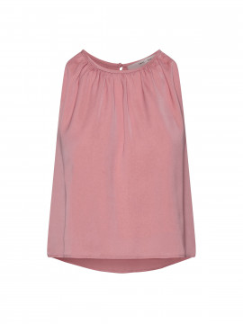 Costamani Recycle plizze top - Dusty rose