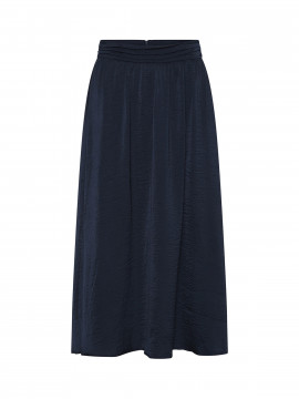 Costamani Recycle plizze skirt - Navy