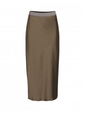 Costamani Fulla skirt - Kahki green