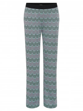 Costamani Zig zak pants - Multi col.