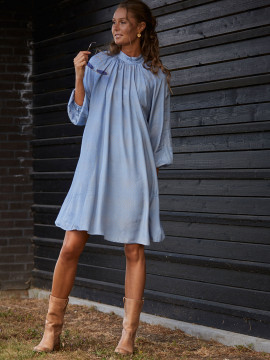 Costamani Cirkeline dot dress - Blue