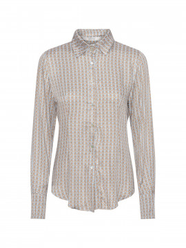 Costamani Silke circle shirt  - Blue