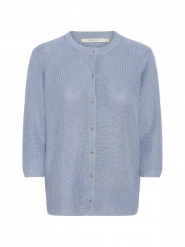 Costamani Linda shine cardigan - Blue
