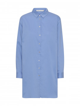 Costamani Bea oversize shirt - Medium blue