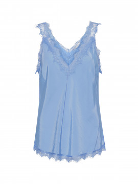 Costamani Moneypenny top - Sky blue