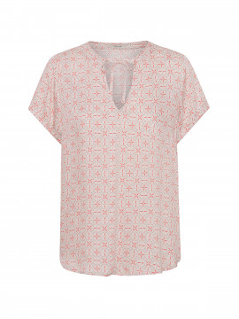 Costamani Wonder helen circel top - Coral