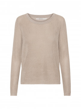 Costamani Hall O-neck knit - Gold