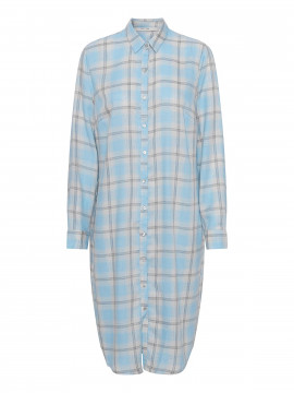 Costamani Charlotta check dress - Blue