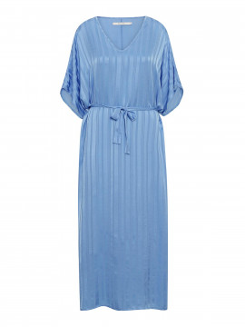 Costamani Lesley tone in tone dress - Blue