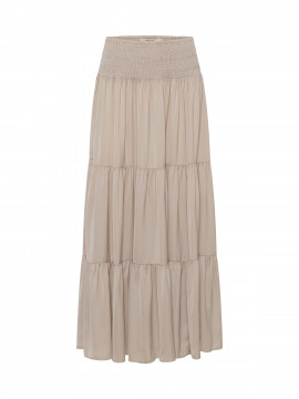 Costamani Chic recycle long skirt - Sand