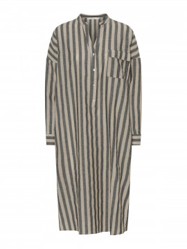 Costamani Oats stripe dress - Sand