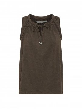Costamani Vinni jersey top - Brown