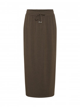 Costamani Marie jersey skirt - Brown