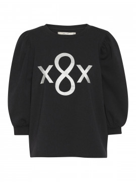 Costamani Roxette puff sweat - Black