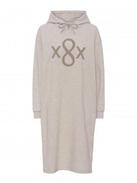 Costamani Roxette sweat dress - Sand