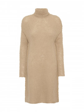 Costamani Roll -neck pullover knit - Sand
