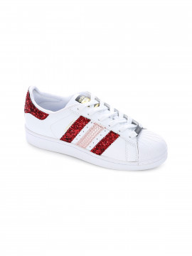 Adidas by Seddy´s Superstar Red sneakers - White