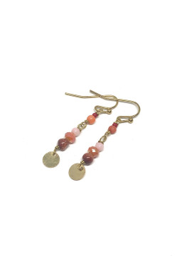 by Bram One roe pearl earrings - Gold