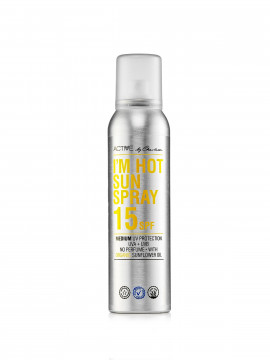 Active by Charlotte Solcreme I`m hot sun spray spf 15