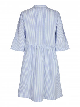 Mos Mosh Amanda stripe dress - Light blue