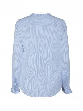 Mos Mosh Mattie two stripe shirt - Bel air blue