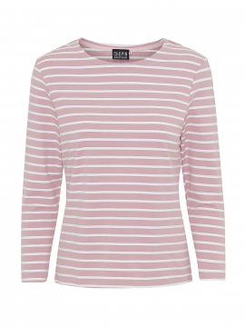 Chopin Kiki stripe tee 3/4 - Rose