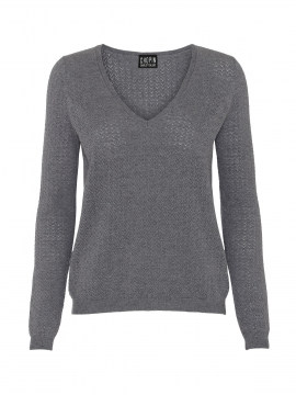 Chopin Kai V-neck knit - Grey