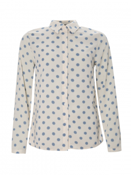 Chopin Petra dot shirt - Light blue