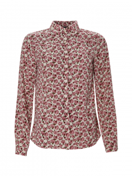 Chopin Petra rose shirt - Plum