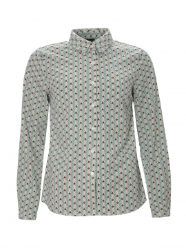 Chopin Petra trees shirt - Mint green