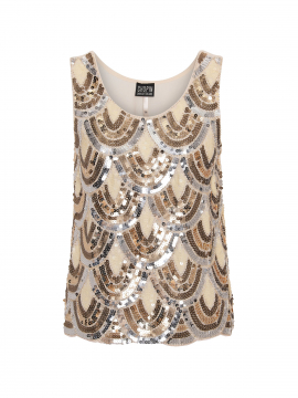 Chopin Basik party top - Beige