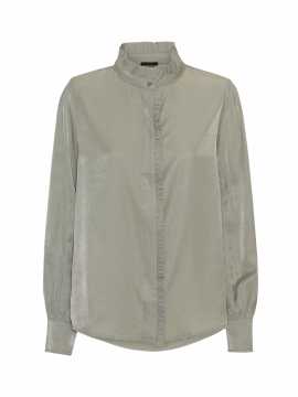 Chopin Bedour solid lace shirt - L.Army