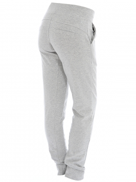Blue Sportswear Feline sweat pant - Light grey melange